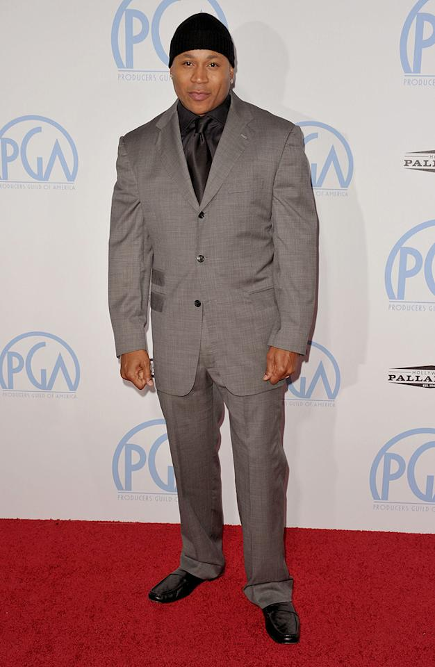 """<a href=""""http://movies.yahoo.com/movie/contributor/1800018845"""">LL Cool J</a> at the 21st Annual Producers Guild Awards in Hollywood, California - 01/24/2010"""