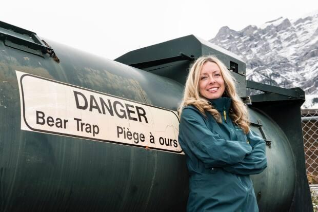 Kim Titchener, former board member of the Alberta BearSmart Program, launched a free online bear safety resource in May. (Rita Taylor/The Banff Centre - image credit)