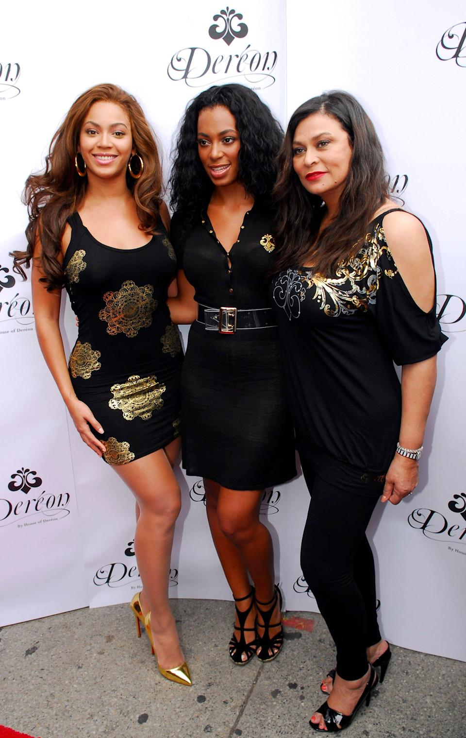 """Tina Knowles-Lawson, the 67-year-old mom of Grammy award winning artistsBeyoncé, left, andSolange, right, said she's celebrated Juneteenth """"ever since I could remember."""""""