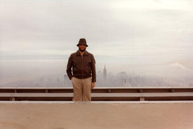 Steven Jacobson proudly standing at his post atop One World Trade Center roof, circa 1981. (Photo: Photo Courtesy of Miriam Jacobson)