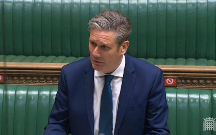 Sir Keir Starmer gave the announcement a qualified welcome - PA
