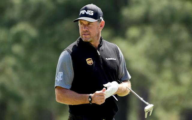 <span>Lee Westwood ends with a round of 68</span> <span>Credit: Harry How/Getty Images </span>