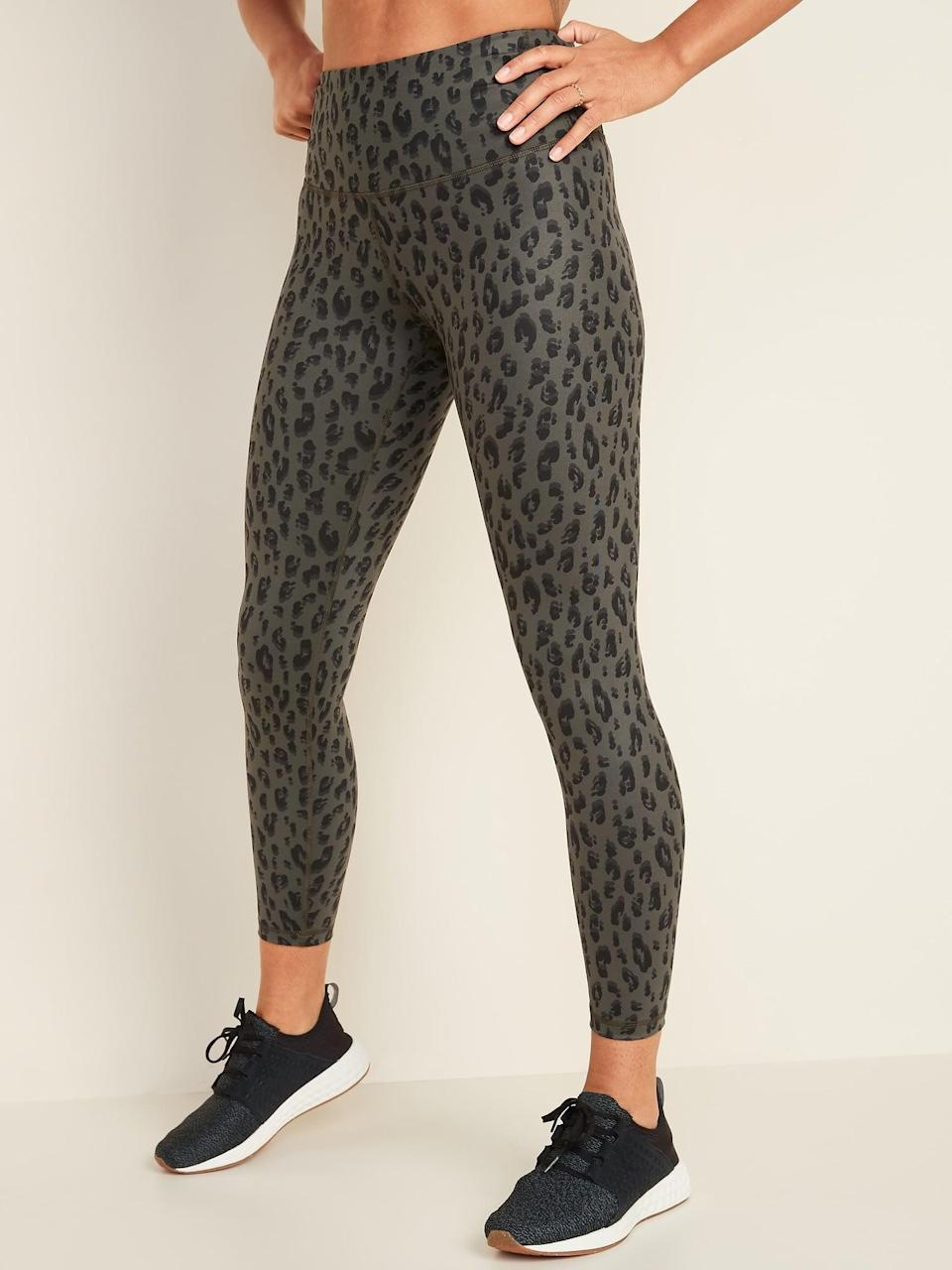 <p>The <span>High-Waisted Elevate 7/8-Length Leggings </span> ($24, originally $30) are great for running or other intense workouts because they're made with a four-way stretch material.</p>