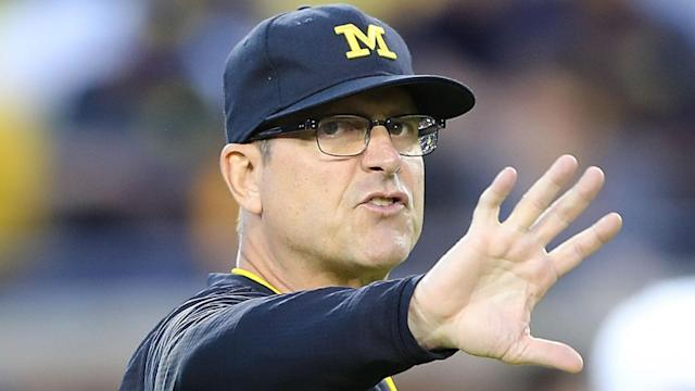 Would Jim Harbaugh leave Michigan for another shot at the NFL? (AP)