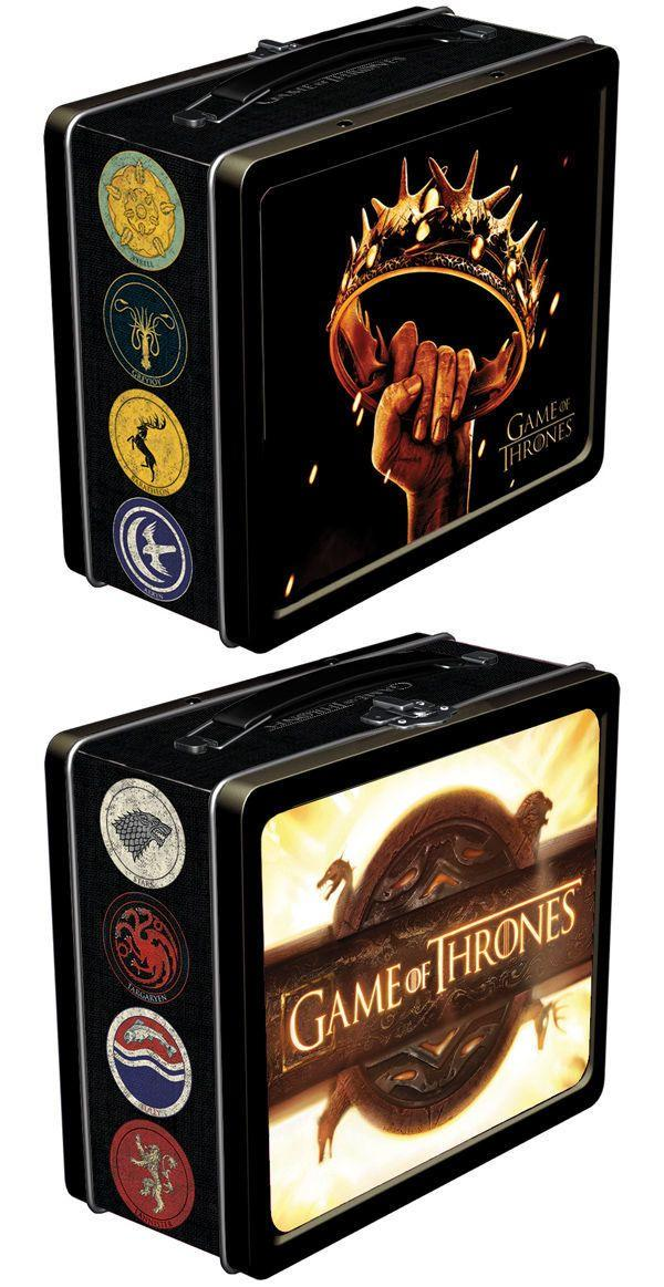 """Winter is coming: <a href=""http://www.darkhorse.com/Products/23-031/GAME-OF-THRONES-LUNCHBOX"" target=""_blank"">you'd better pack a lunch!</a>"""