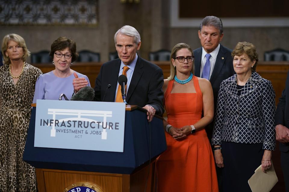 Congress Infrastructure (Copyright 2021 The Associated Press. All rights reserved)