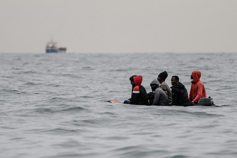 'Just God, the water and us': risking the Channel 'death route' to Britain
