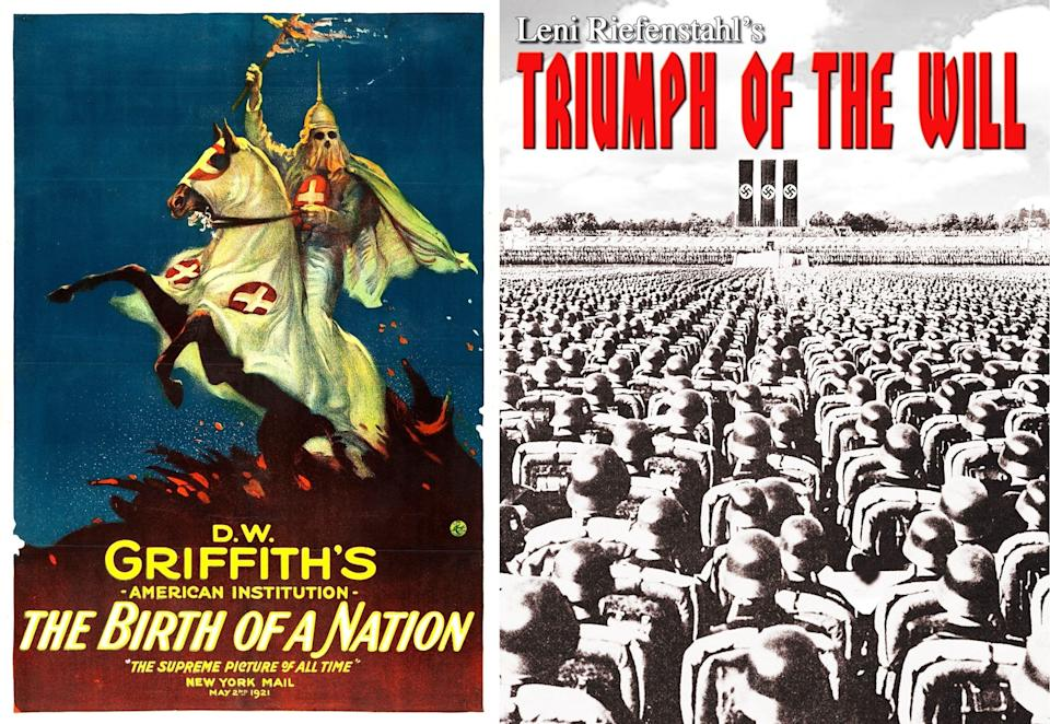 Birth of a Nation and Triumph of the Will (Photo: HuffPost India )