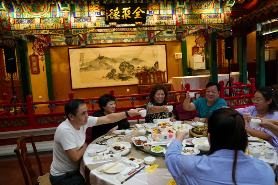A woman in Zhejiang, China ended having to pay for meals incurred by her relatives during a blind date. — Reuters pic