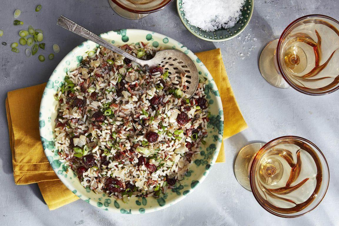"""<p>Yes, you can still enjoy the annual <a href=""""https://www.countryliving.com/food-drinks/g637/thanksgiving-menus/"""">Thanksgiving feast</a> without eating meat with these delicious vegetarian Thanksgiving recipes. Weather you're plant-based yourself, you have a vegetarian guest coming to dinner this year, or maybe you just want to cut back on meat, it doesn't matter—everyone will love these <a href=""""https://www.countryliving.com/food-drinks/g1186/vegetarian-recipes-0309/"""">vegetarian dishes</a>. (Trust us—even the carnivores will be loading up their plates!) Although not a single one of these options contains meat, they're still loaded with flavor. And if you have any vegans joining you for Turkey this year, there are a few <a href=""""https://www.countryliving.com/food-drinks/g22540440/vegan-thanksgiving/"""">vegan recipes</a> on this list too. </p><p>Plenty of your holiday favorites are on this recipe list, including <a href=""""https://www.countryliving.com/food-drinks/g1547/green-bean-recipes/"""">green beans</a>, <a href=""""https://www.countryliving.com/food-drinks/g877/sweet-potato-recipes-1009/"""">sweet potatoes</a>, and a couple of <a href=""""https://www.countryliving.com/food-drinks/g1368/thanksgiving-pies/"""">Thanksgiving pies</a>. Not only are many of these dishes nutritious (because they're packed with vegetables), but majority are also super easy to make. A few ideas are even prepared right in your<a href=""""https://www.countryliving.com/food-drinks/g4484/vegetarian-slow-cooker-recipes/""""> slow cooker</a>, so you barely have to do any work at all. It's impossible to choose an all-time favorite from this list, but we think everyone at your holiday gathering will love the herby mushroom croissant stuffing, the scalloped corn casserole, and the garlic Parmesan mashed potato casserole. And if you're worried as to what could possible replace the <a href=""""https://www.countryliving.com/food-drinks/g1365/turkey-recipes/"""">roasted turkey</a>, don't you worry. There's even a recipe for a """