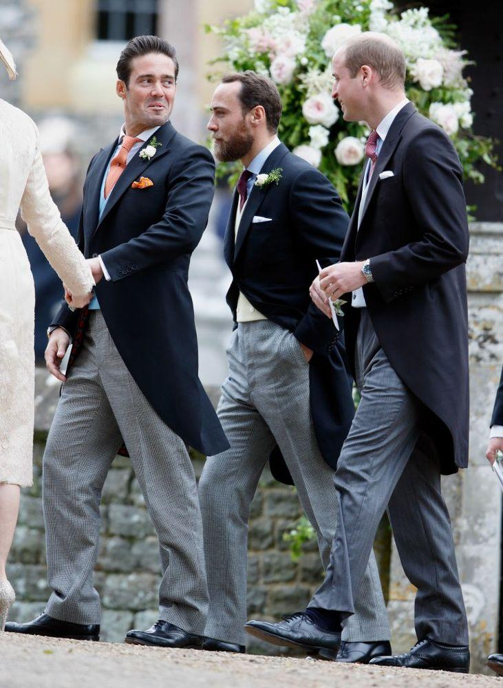 Spencer Matthews, James Middleton and Prince William | Max Mumby/Indigo/Getty Images