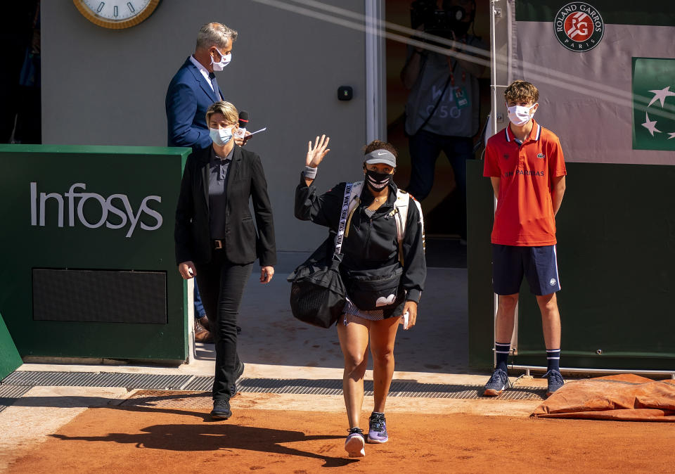 Osaka fined $15,000 after win, warned of French Open expulsion