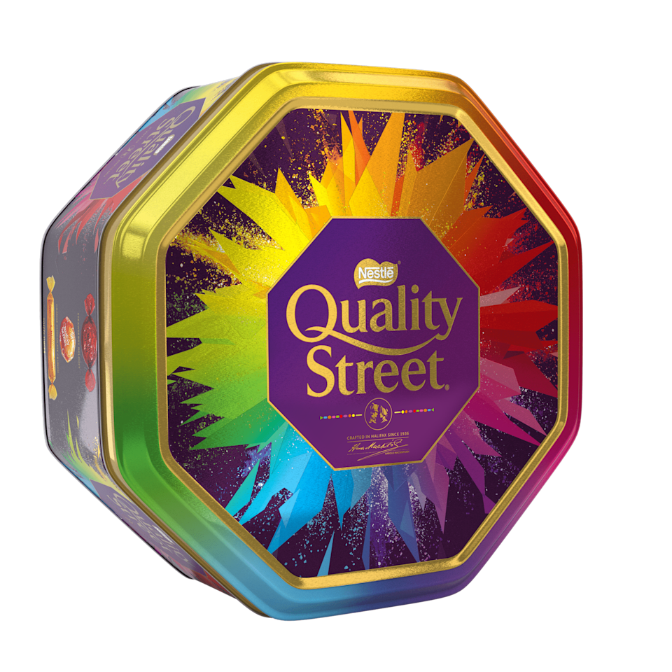 The pick and mix Quality Street tins are back at John Lewis. (Nestle)