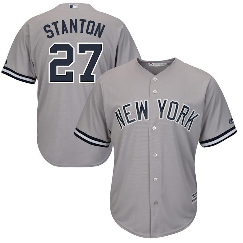 Stanton Yankees Cool Base Player Jersey