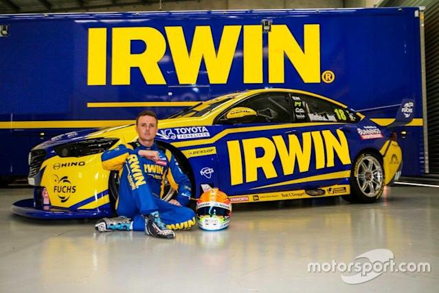 "Mark Winterbottom, Team 18 Holden Commodore <span class=""copyright"">Team 18</span>"