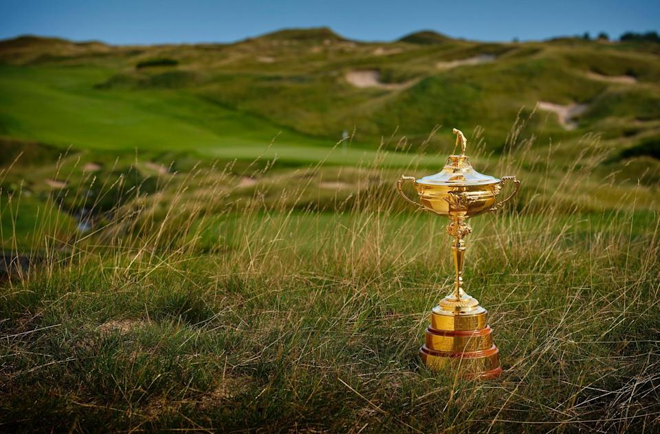 The Straits Course twists and turns to test tour pros. Match play in the Ryder Cup should only make it better., the vie