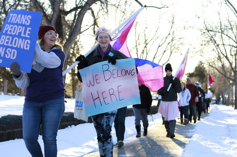 """<span class=""""caption"""">March 31 marks International Transgender Day of Visibility</span> <span class=""""attribution""""><span class=""""source"""">(AP Photo/Stephen Groves)</span></span>"""
