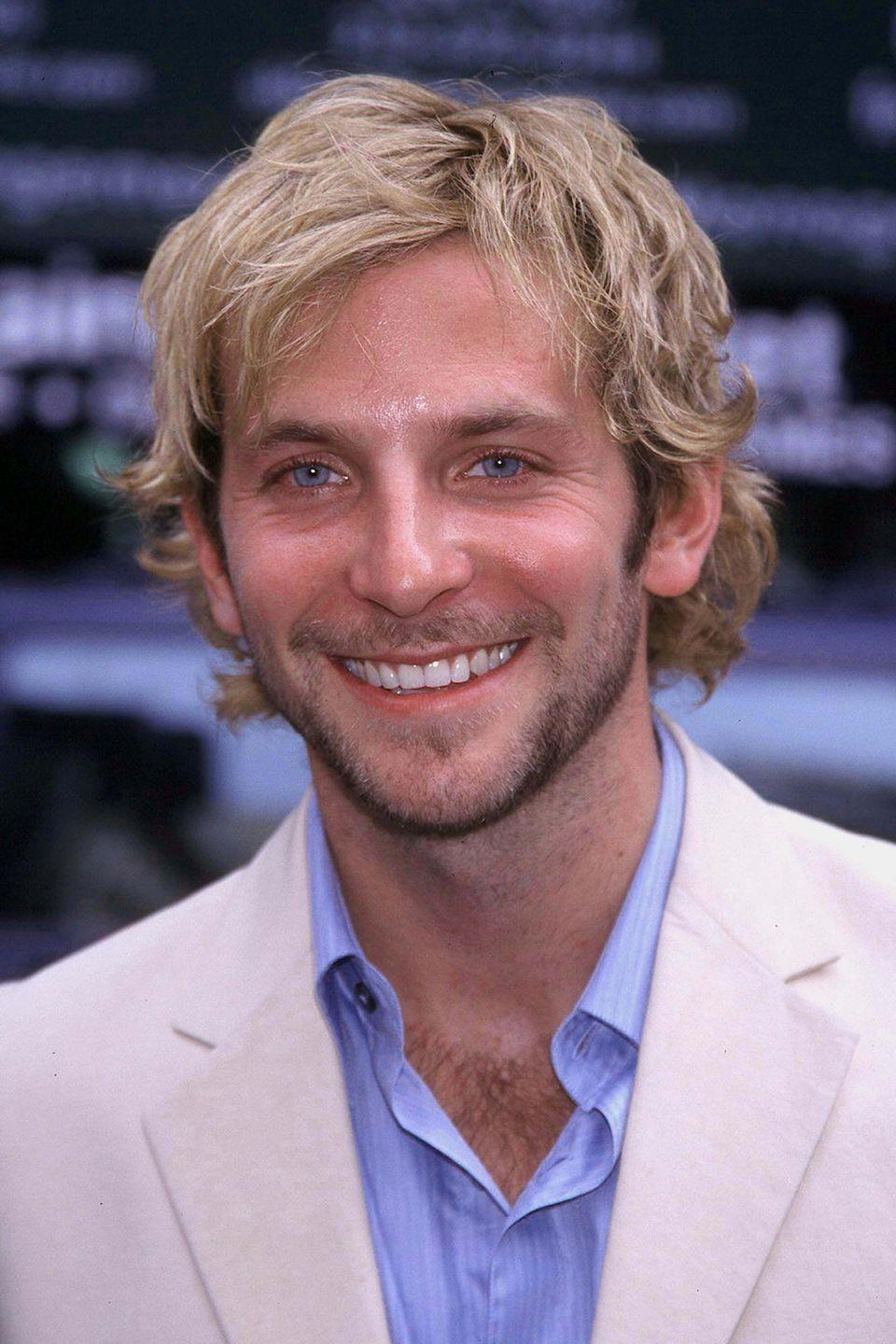 <p>Bradley Cooper's big breakout was in <em>The Hangover</em>, but before that the actor was on TV in <em>Alias</em>. Here he is on the red carpet for an ABC up front party.</p>