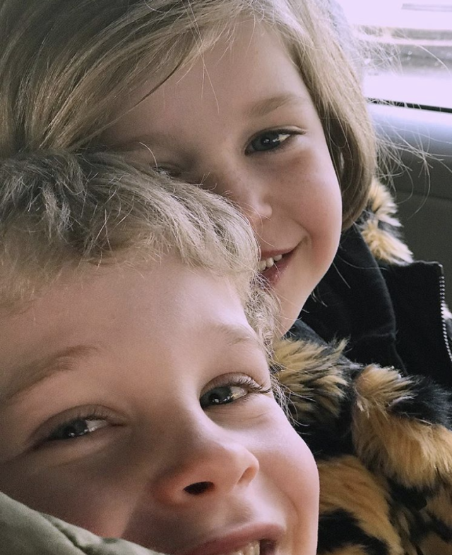 "<p>""Gideon and Harper on their way home from school. I am so proud of who they've become, and beyond excited by who they will be,"" gushed the dad of the 7-year-old twins. He also gave a special shot-out to his husband, David Burtka, ""for such masterful parenting."" (Photo: <a href=""https://www.instagram.com/p/Bf_73-8BsVM/?taken-by=nph"" rel=""nofollow noopener"" target=""_blank"" data-ylk=""slk:Neil Patrick Harris via Instagram"" class=""link rapid-noclick-resp"">Neil Patrick Harris via Instagram</a>) </p>"