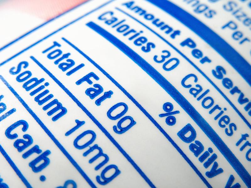 Do You Find Nutrition Labels Confusing? You're Not Alone, a Recent Survey Says