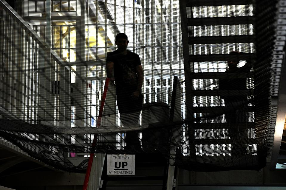 Inmates will not have access to courts, lawyers, family visits and cannot use the gym (PA) (PA Archive)