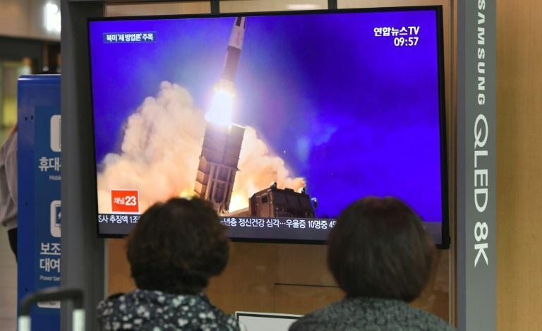 Pyongyang fired a sea-launched missile October 2 in the latest -- and most provocative -- of a series of weapons tests