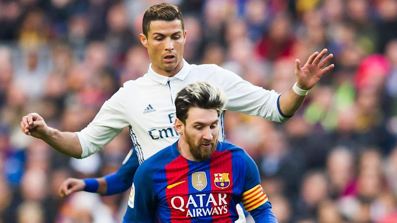 Real Madrid vs Barcelona pre-match stats presented by Opta