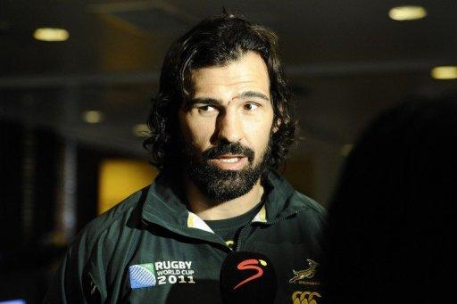 "Opinion is divided over whether one-time lord of the locks Victor Matfield (pictured in 2011) should come out of retirement and lead South Africa in a three-Test home series against England this June. World Cup-winning former Springbok coach Jake White says the move ""would make sense"" while Johannesburg-based ex-British and Irish Lions scrum-half John Robbie disagrees"