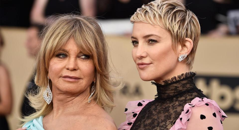 Kate Hudson followed in the footsteps of her super-famous Mum, Goldie Hawn. [Photo: Getty]