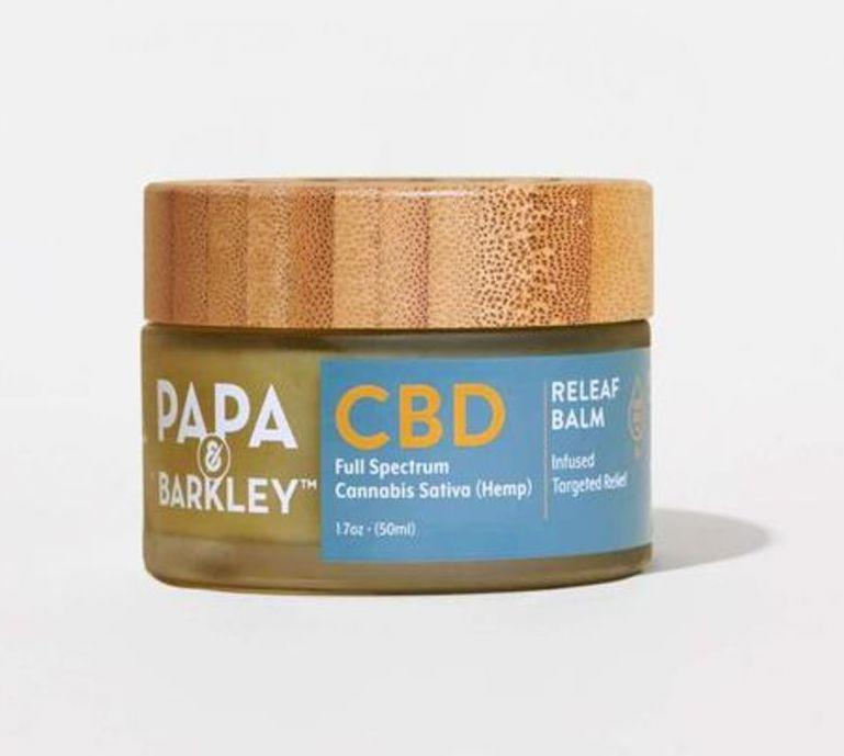 papa and barkley, best cbd cream for pain