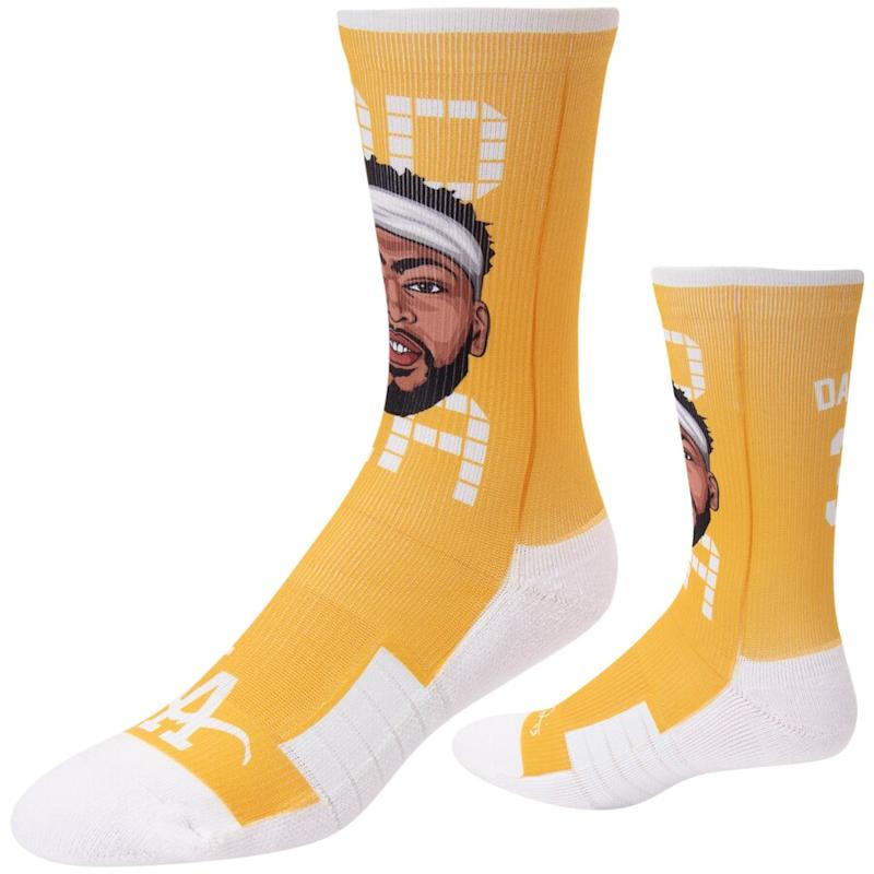 Anthony Davis Lakers Crew Socks