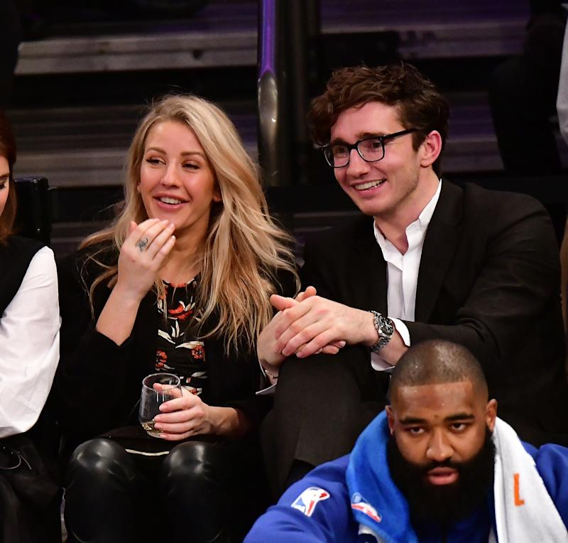In a true boon for the rise of the art bro, like Jennifer Lawrence's beau Cooke Maroney, as celebrity boy toy, Ellie Goulding and Caspar Jopling, who hails from Sotheby's contemporary art department, announced their engagement in August via newspaper.