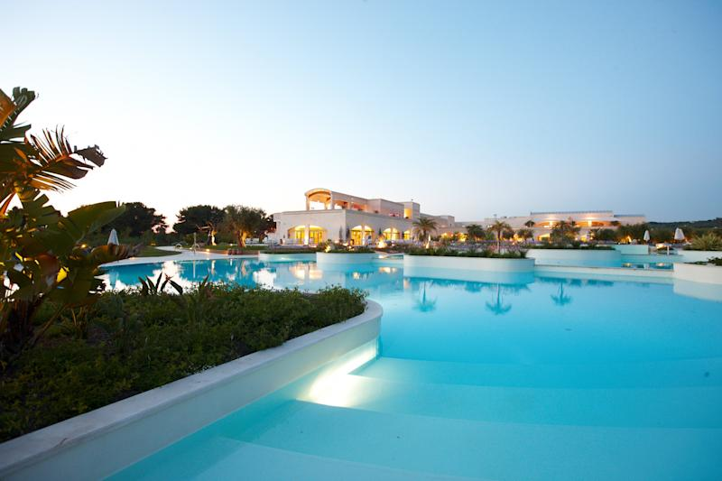 Swim in one of the four pools at Vivosa Apulia Resort. [Photo: Vivosa Apulia Resort]