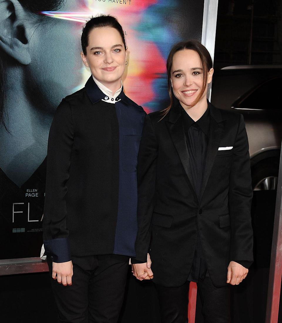 """<p><strong>How long they've been together: </strong>After first being linked in 2017, Page and Portner made their red carpet debut at the premiere of <em>Flatliners</em> that same year. The couple surprised fans in 2018 when they announced that they had secretly wed.</p><p><strong>Why you forgot they're <strong>together</strong>: </strong>Despite <a href=""""https://www.instagram.com/p/BZkQsbnBhwG/?utm_source=ig_embed"""" rel=""""nofollow noopener"""" target=""""_blank"""" data-ylk=""""slk:Instagram"""" class=""""link rapid-noclick-resp"""">Instagram</a> and red carpet appearances, Page hasn't spoken much about her relationship with the dancer and choreographer.</p>"""
