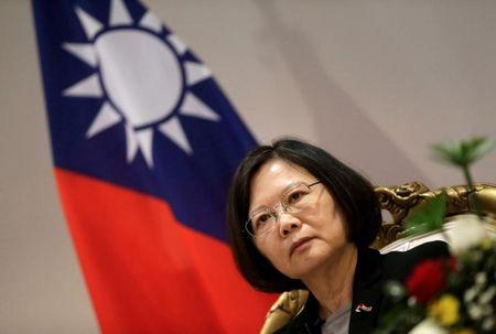 Taiwan's leader urges China to show restraint amid renewed tensions