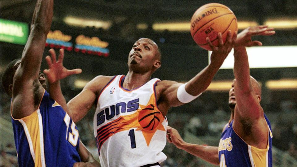 """<p>Penny Hardaway was a star over the course of his first six seasons in the NBA. He averaged over 20 points a game in three of those seasons prior to dealing with injuries that limited his time from 1997-1999. However, the Suns were clearly thinking more of the pre-injury Hardaway when the team inked a seven-year, $86.7 million deal with him before the 1999 season.</p> <p>While Hardaway's first season in town was a little below his usual standards, it was also the best he would have in Arizona by a long shot. Persistent issues with his knee plagued Hardaway for the remainder of his career, preventing him from living up to the potential set in his first few seasons in the league. He would only play in just half of the games he signed on for in Phoenix, making almost $420,000 per appearance.</p> <p><em><strong>Related: <a href=""""https://www.gobankingrates.com/net-worth/sports/michael-jordan-worth-money-compared-to-other-greats/?utm_campaign=1053693&utm_source=yahoo.com&utm_content=24"""" rel=""""nofollow noopener"""" target=""""_blank"""" data-ylk=""""slk:Was Michael Jordan Worth the Money? His Airness Compared To Other Greats"""" class=""""link rapid-noclick-resp"""">Was Michael Jordan Worth the Money? His Airness Compared To Other Greats</a></strong></em></p> <p><small>Image Credits: Mike Fiala / Getty Images</small></p>"""