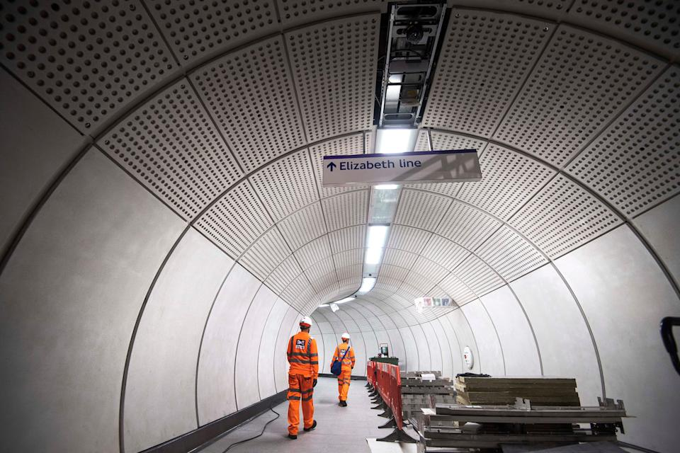 Crossrail dress rehearsals could take place this year (Victoria Jones/PA) (PA Archive)