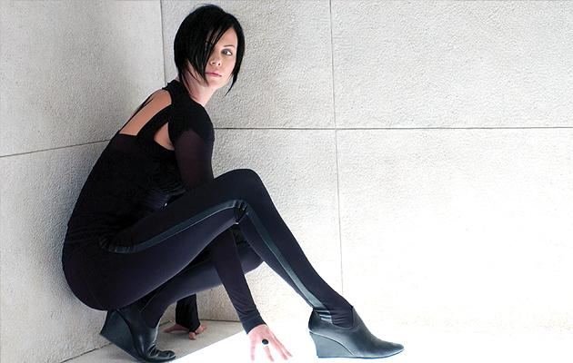 """Charlize Theron as Aeon Flux<br>""""<a href=""""http://movies.yahoo.com/movie/aeon-flux/"""">Aeon Flux</a>"""" (2005)<br>"""