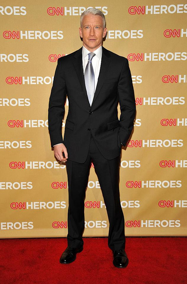 """CNN anchor Anderson Cooper hosted the event, which recognized ordinary people doing extraordinary acts of service. Frazer Harrison/<a href=""""http://www.gettyimages.com/"""" target=""""new"""">GettyImages.com</a> - November 22, 2008"""