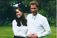 <p>This charming picture from The Middleton family album shows the happy couple after graduating from St. Andrew's university.</p>