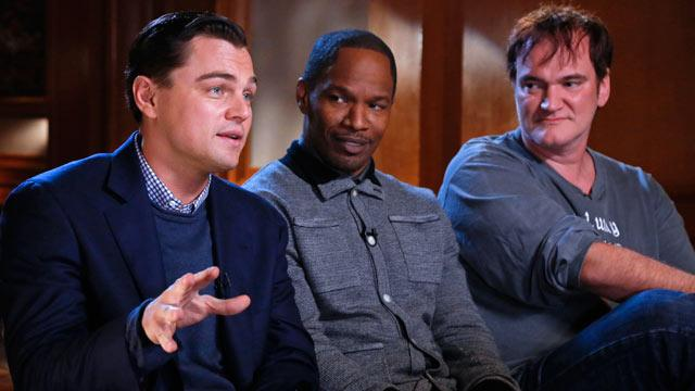 Tarantino, DiCaprio, Foxx Say 'Django Unchained' Plot Was 'Tough'