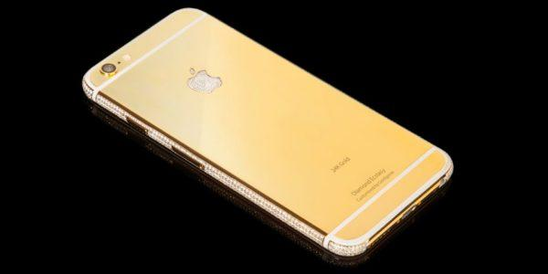 Cool Smartphones Worth More Than Their Value - Golden iPhones