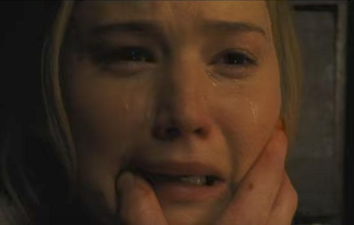 Jennifer Lawrence appears in the latest trailer for horror film Mother! Source: Paramount Pictures