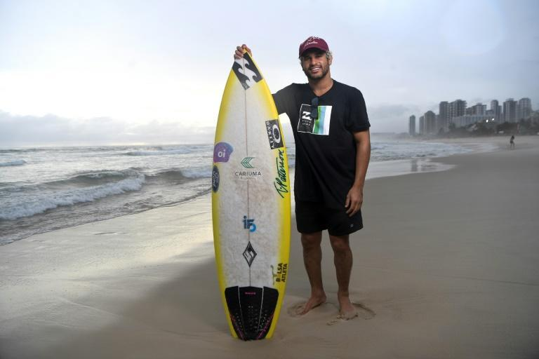 Brazilian surfer Italo Ferreira is aiming for gold as the sport makes its Olympic debut