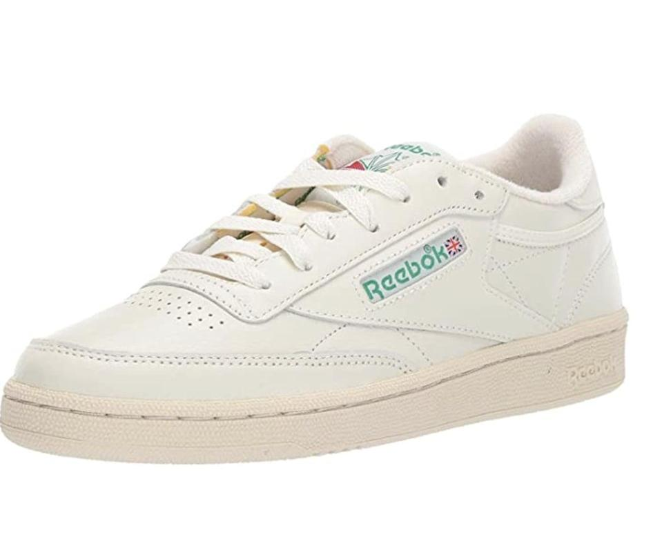 <p>Pair these <span>Reebok Club C 85 Vintage Sneakers</span> ($53 - $153) with your favorite t-shirt dress for a casual and easygoing look.</p>