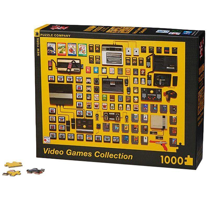 """<p><strong>New York Puzzle Company</strong></p><p>amazon.com</p><p><strong>$24.00</strong></p><p><a href=""""https://www.amazon.com/New-York-Puzzle-Company-Golden/dp/B01CIS3O7C/?tag=syn-yahoo-20&ascsubtag=%5Bartid%7C10054.g.14381053%5Bsrc%7Cyahoo-us"""" rel=""""nofollow noopener"""" target=""""_blank"""" data-ylk=""""slk:Buy"""" class=""""link rapid-noclick-resp"""">Buy</a></p><p>Puzzles: the original gaming. This one has a thousand pieces, everyone's favorite consoles, and endless nostalgia.</p>"""