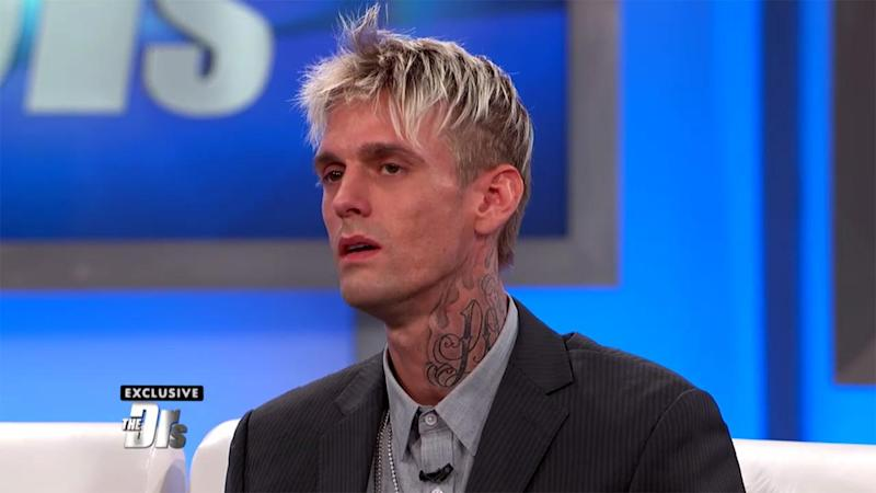 Watch Aaron Carter's Emotional Reaction After Getting the Results of His HIV Test on 'The Doctors'