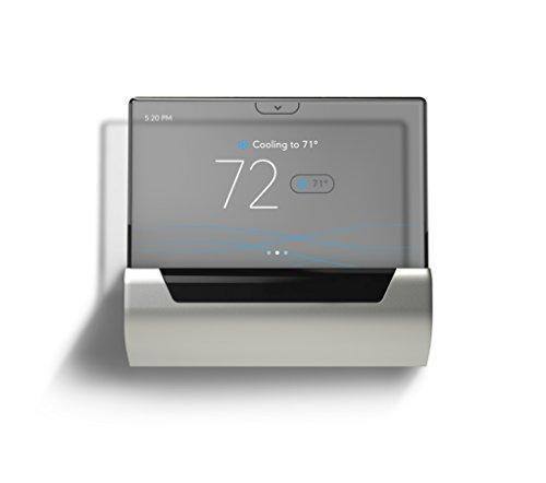 GLAS Smart Thermostat by Johnson Controls, Translucent OLED Touchscreen, Wi-Fi, Mobile App, Wor…