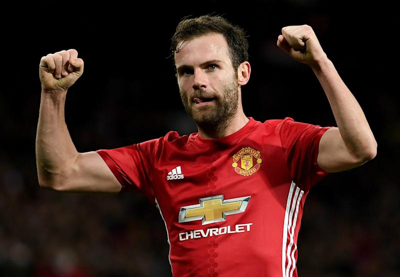 Man Utd midfielder Mata feeling positive as he starts recovery from groin surgery