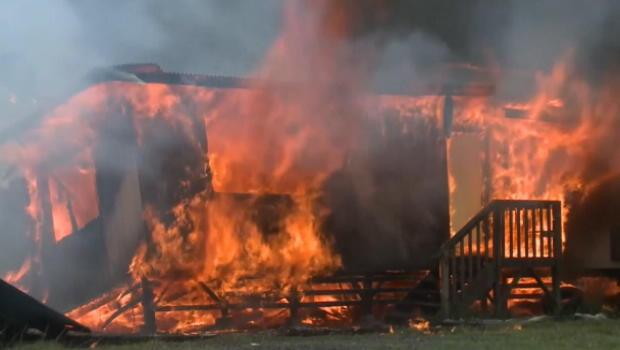 Home in Pahoa, Hawaii burns down in less than an hour